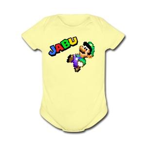 TheJabuBros Luigi Sprite Shirt - Short Sleeve Baby Bodysuit