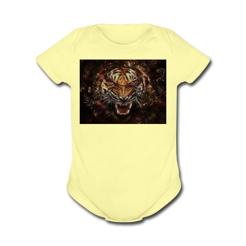 tigermerch - Organic Short Sleeve Baby Bodysuit
