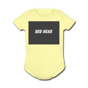 redheadmerch - Short Sleeve Baby Bodysuit