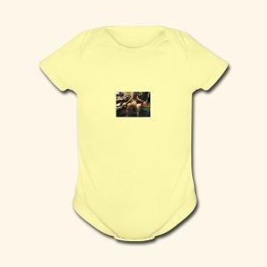 download - Short Sleeve Baby Bodysuit
