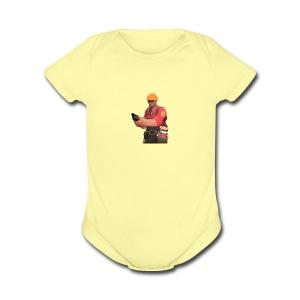 250px-Engineer_TeddyRoosebelt - Short Sleeve Baby Bodysuit