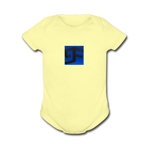 Flip Gaming V2 - Organic Short Sleeve Baby Bodysuit