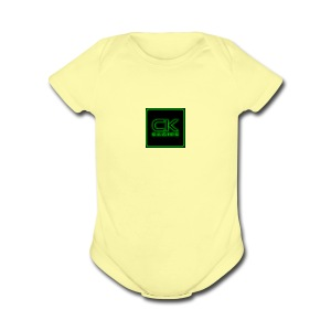 ck gaming - Short Sleeve Baby Bodysuit