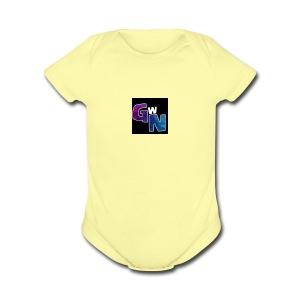 gamingwithnic - Short Sleeve Baby Bodysuit
