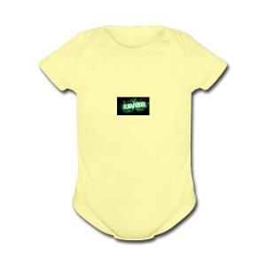 X-Clan Sweater - Short Sleeve Baby Bodysuit