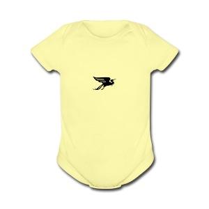 Wandervogel Bird - Short Sleeve Baby Bodysuit