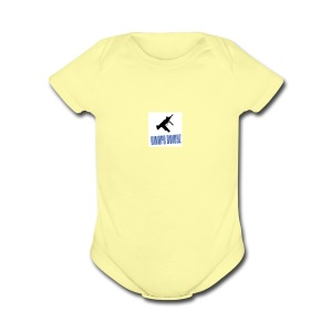 DWOPE BWOYZ - Short Sleeve Baby Bodysuit