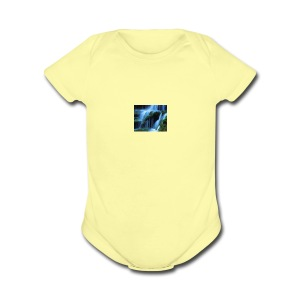 waterfalls - Short Sleeve Baby Bodysuit