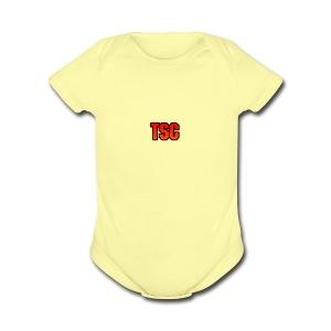 TSC Logo - Short Sleeve Baby Bodysuit