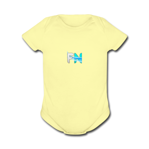 Futuristic Networks - Organic Short Sleeve Baby Bodysuit