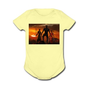 Wakanda Forever - Short Sleeve Baby Bodysuit