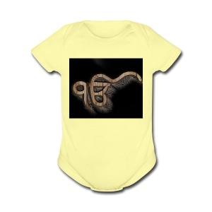 ekonkar - Short Sleeve Baby Bodysuit
