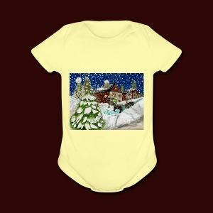 Old Christmas - Short Sleeve Baby Bodysuit