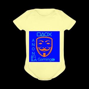 AnonGaming - Short Sleeve Baby Bodysuit