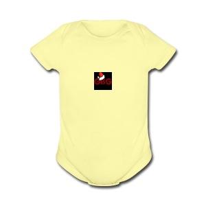 Chrismas Logo - Short Sleeve Baby Bodysuit