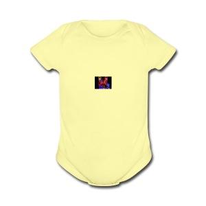 ZiairPlays Kids hoodie - Short Sleeve Baby Bodysuit