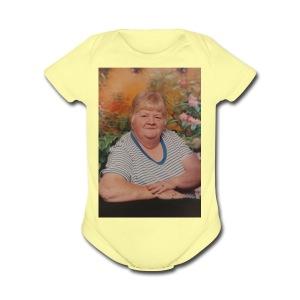 Carolyn - Short Sleeve Baby Bodysuit