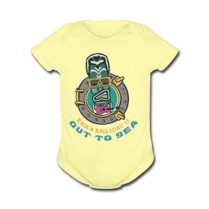 Rock and Roll Luau II - Short Sleeve Baby Bodysuit