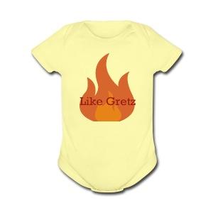 FireLikeMerch - Short Sleeve Baby Bodysuit
