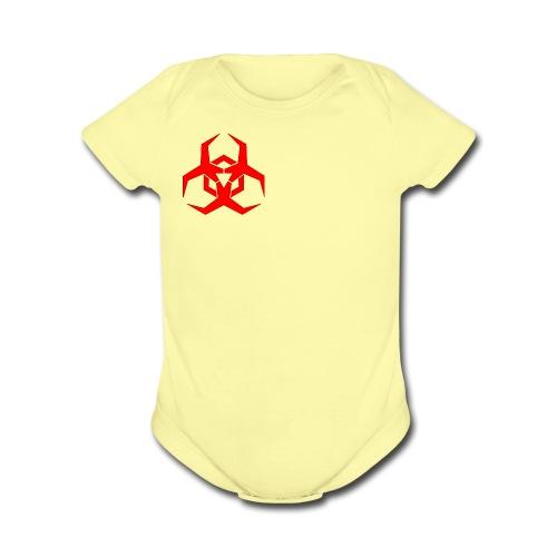 HazardMartyMerch - Organic Short Sleeve Baby Bodysuit