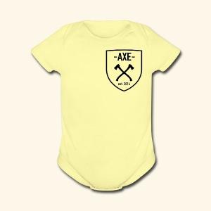 The AXE - Short Sleeve Baby Bodysuit