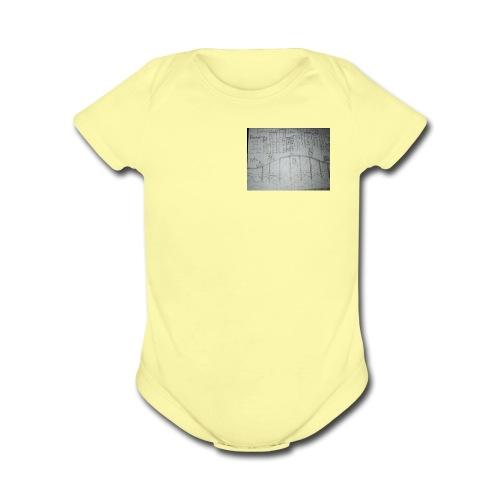 15080230123001845926267 - Organic Short Sleeve Baby Bodysuit