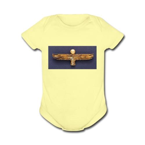 Ancient Egypt - Organic Short Sleeve Baby Bodysuit
