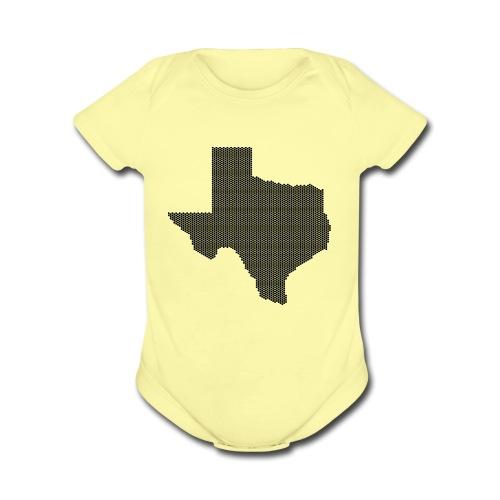 Texas - Organic Short Sleeve Baby Bodysuit