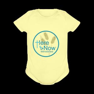 Here & Now - Short Sleeve Baby Bodysuit