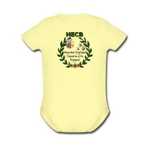 HECB Homeschool Enrichment Cooperative Bluegrass - Short Sleeve Baby Bodysuit