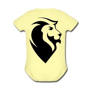 JUDAH Logo - Short Sleeve Baby Bodysuit