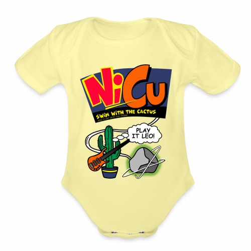 NiCU - Organic Short Sleeve Baby Bodysuit