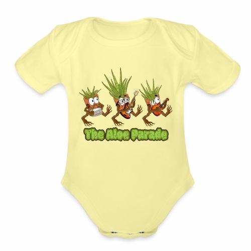 The Aloe Parade - Organic Short Sleeve Baby Bodysuit