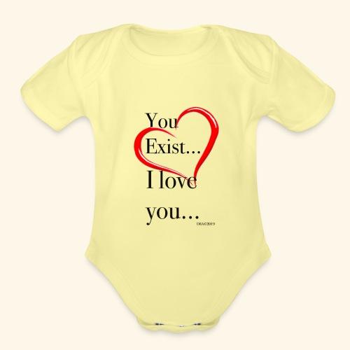 Exist - Organic Short Sleeve Baby Bodysuit