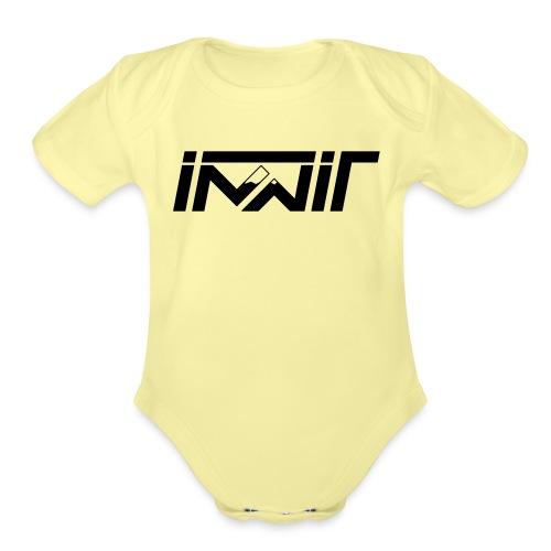 the innit logo - Organic Short Sleeve Baby Bodysuit