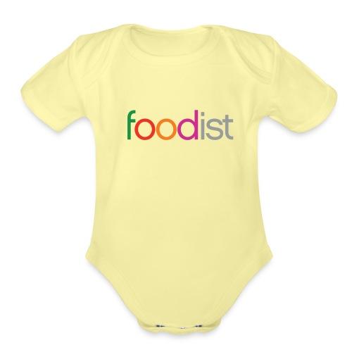Foodist Title png - Organic Short Sleeve Baby Bodysuit