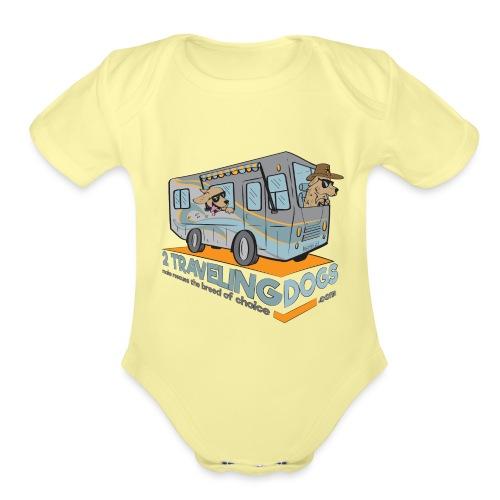RV Adventures - Organic Short Sleeve Baby Bodysuit