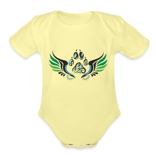 Summer Design - Organic Short Sleeve Baby Bodysuit