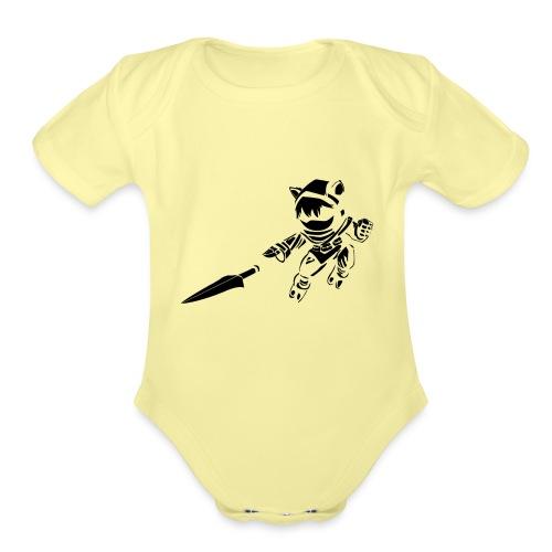 Kennen - Organic Short Sleeve Baby Bodysuit