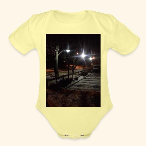 WP 20140104 001 jpg - Organic Short Sleeve Baby Bodysuit
