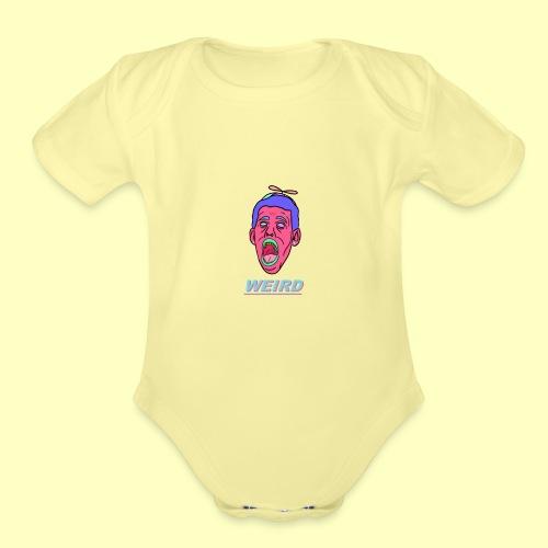 WEIRD - Organic Short Sleeve Baby Bodysuit