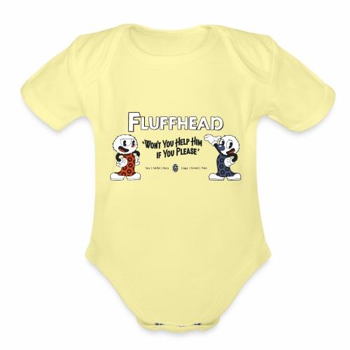 Fulffhead - Organic Short Sleeve Baby Bodysuit
