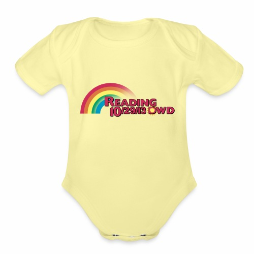 Reading DWD - Organic Short Sleeve Baby Bodysuit