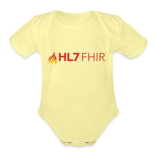 HL7 FHIR Logo - Organic Short Sleeve Baby Bodysuit