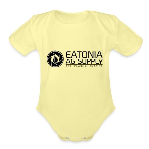 EAS CNC 2 - Organic Short Sleeve Baby Bodysuit
