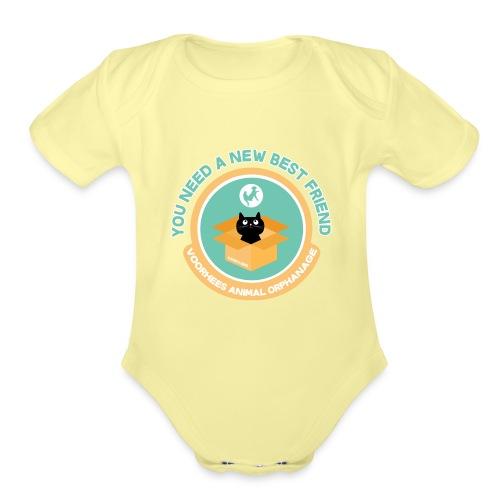 New Best Friend - Organic Short Sleeve Baby Bodysuit
