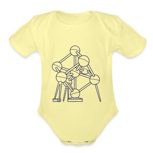 Atomium Brussels - Organic Short Sleeve Baby Bodysuit