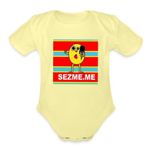 Sez Me Classic shirt png - Organic Short Sleeve Baby Bodysuit