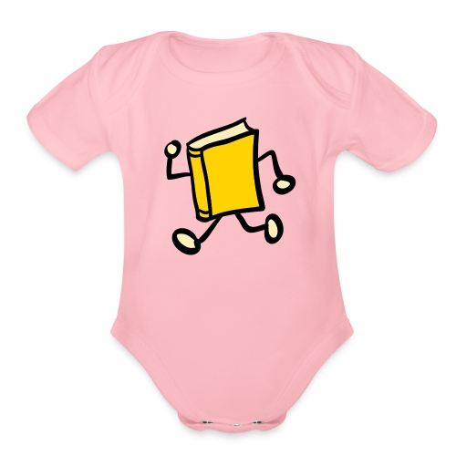 Baby-on-the-Go One size - Organic Short Sleeve Baby Bodysuit