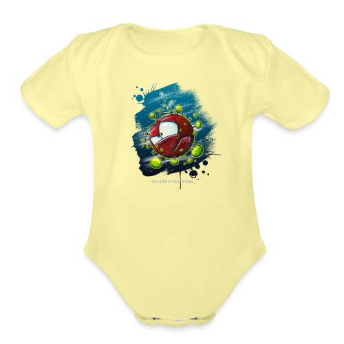 Covid - Organic Short Sleeve Baby Bodysuit